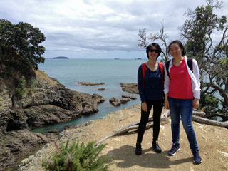 Exploring Waiheke Island with Walking By Nature walking tours