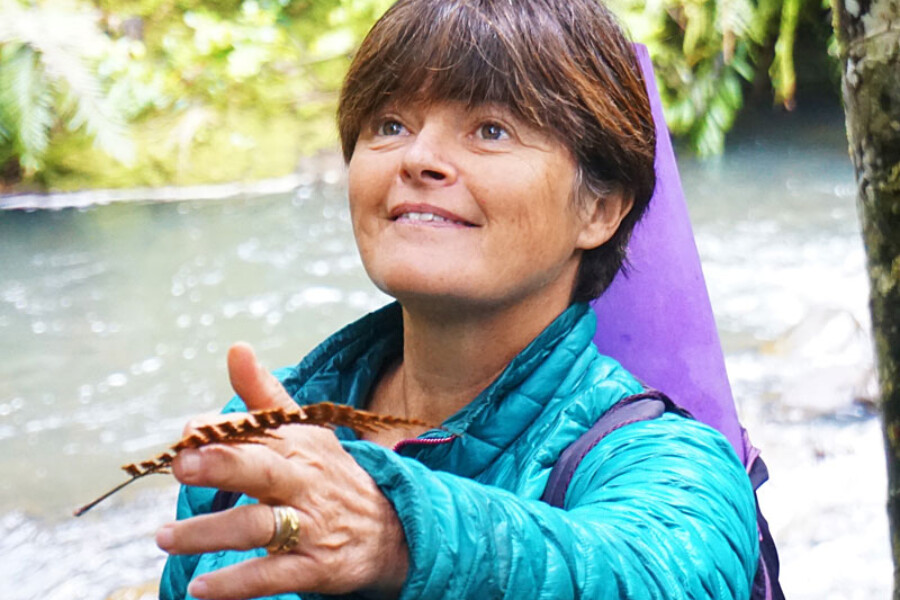 Gabrielle Young, Forest Therapy guide