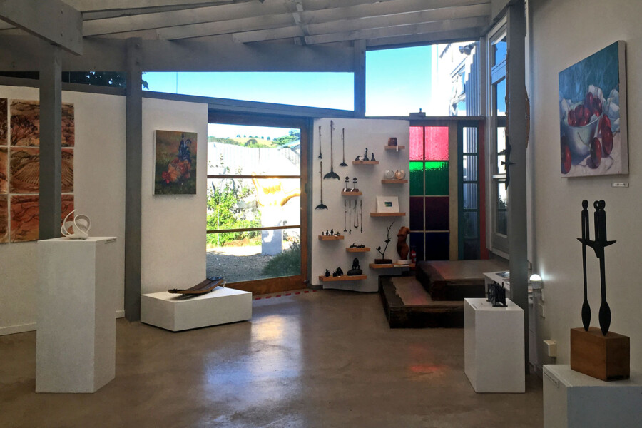 Art gallery on Waiheke Island